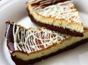 Cheese cake doppio cioccolato festeggiare primo blogcompleanno