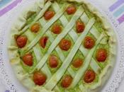 Torta rustica zucchine pomodorini