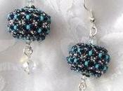 Bead Hera earrings