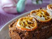 Plum cake farina riso arance essiccate rice flour with dried oranges