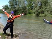 open canoe Ticino River