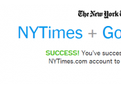 Google Glass: l'app York Times