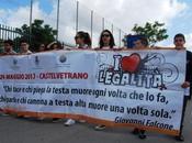 """Successo """"Corteo della Legalità"""" organizzato ragazzi Castelvetrano"""