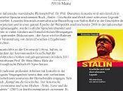 Stalin: presentazioni Domenico Losurdo Germania
