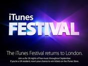 Settembre terrà l'iTunes Festival 2013