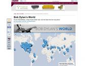 Tutte luoghi citati nelle canzoni Dylan mappa interattiva