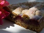 Crostata rustica noci confettura lamponi