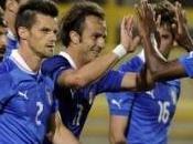 L'Italia vince amichevole