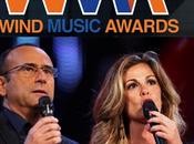 Carlo Conti Vanessa Incontrada presentano edizione Wind Music Awards 2013 diretta Rai1