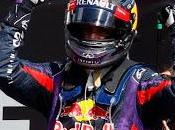 Sebastian Vettel entusiasta della vittoria