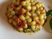Gnocchetti patate pesto pomodorini piccanti