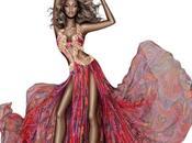 Cavalli Beyonce: abito immagine