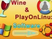 Wine PlayOnLinux soft Windows Linux