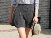 look Diane Kruger lace shoes