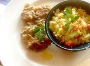 Couscous ebraico pollo alla griglia