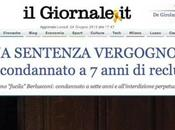 Condanna Berlusconi, titoli 'sobri' Giornale, Libero Foglio