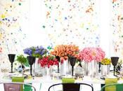 Watercolor style Modern Wedding