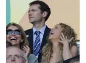 Confederations Cup: Shakira ride sugli spalti