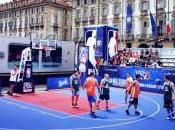 Pallacanestro: Piazza Castello prima giornata dell'NBA Tour