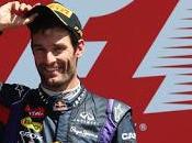 Mark Webber raggiante secondo posto Silverstone