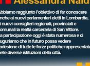 Carcere Vittore Milano Alessandra Naldi: combattere sovraffollamento carceri garantire dignità reclusi
