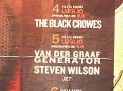 Pistoia Blues 2003: Black Crowes, VDGG, Steven Wilson