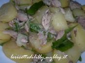 insalata estiva patate sgombro rucola