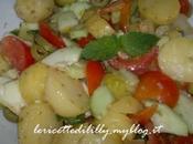 insalata estiva patate pomodori alla leccese