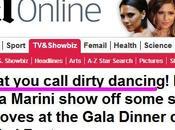 """Valeria Marini sulla stampa straniera: """"Dirty dancing"""" Roth foto"""
