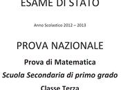 Soluzioni Prova Nazionale Invalsi matematica 2013