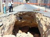 Voragine Tunisi Marsala, lavora limitare danni alla rete idrica