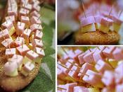 Stuzzichini formagggio prosciutto