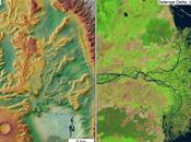 antico fiume Marte riversa vasto oceano ormai scomparso