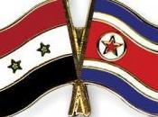 Storia dell'asse siria corea nord