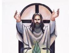 Gesù Cristo miracolose unzioni alla Cannabis