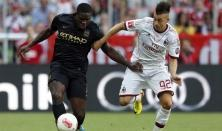 Manchester City-Milan 5-3: Shaarawy Petagna show City troppo forte