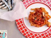 Massa anchovas Pasta alici