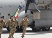 Afghanistan/ ISAF Regional Command West. bandiera guerra Reggimento Bersaglieri arriva Herat