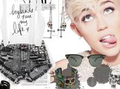 Miley Cyrus Style Fashion Outfit