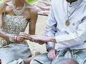 Nina Moric sposata rito buddista