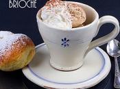 Gelato cappuccino gelato brioche tuppo