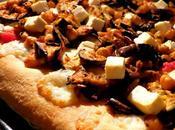 PIZZA MELANZANE speziate FETA