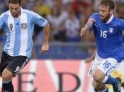 Italia contro l'Argentina