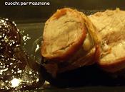 Filetto Maiale lardellato forno, Riduzione Vino rosso Composta Cipolle Tropea