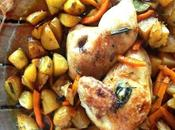 Demi poulet arrosto all'aceto balsamico