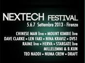 Nextech Festival, musica elettronica ambiente visivo 5.6.7 settembre 2013, Firenze.
