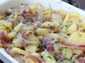Insalata patate, cipolla tropea speck