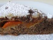 Torta albicocche noci