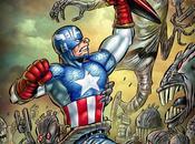 versione definitiva della cover variant Ortolani Capitan America