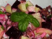 Piovra rosa barbabietole patate